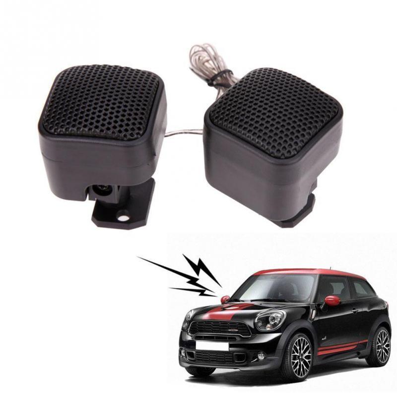 цена на 2Pcs 12V Universal Car Super Power High Efficiency Audio Loud Speaker Tweeter 500w