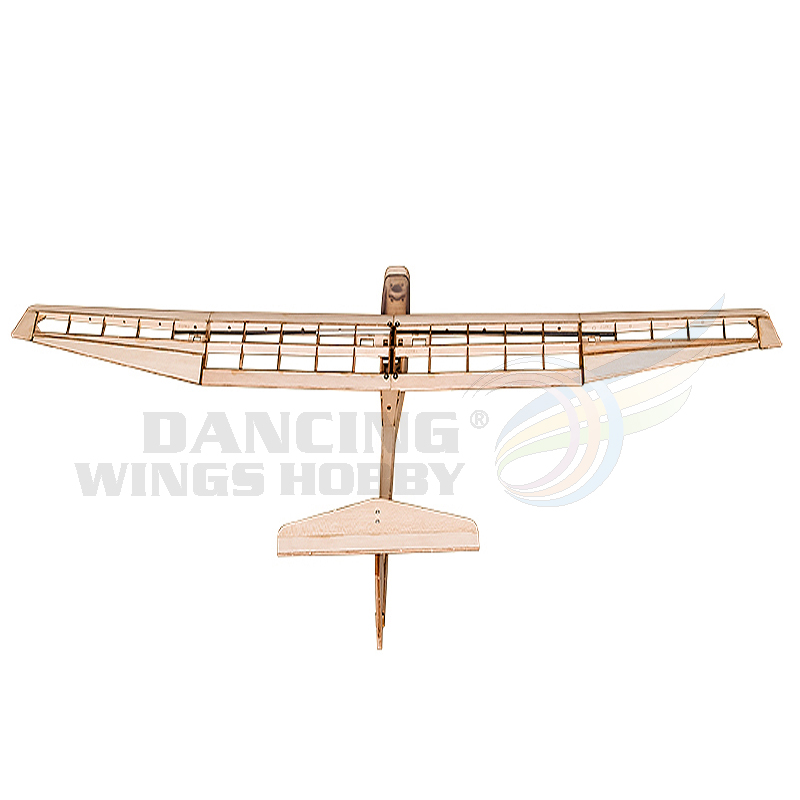 DW Hobby Flying Glider Planes, 1550mm Laser Cut Balsa Wood Aircraft