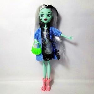 Image 3 - Ensemble de 4 poupées pour filles, pas de boîte, haut, corps, jouet, monstre amusant, haut, mobile, nouveau Style, meilleur cadeau