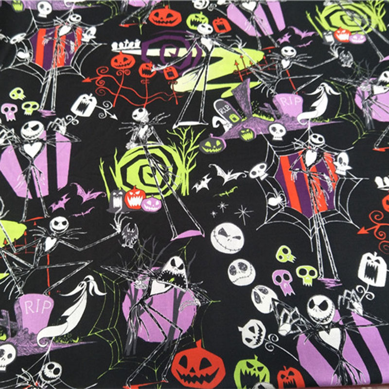 Dark Magic Alchemy Potion Skulls Alexander Henry Cotton Fabric Fantasy Halloween