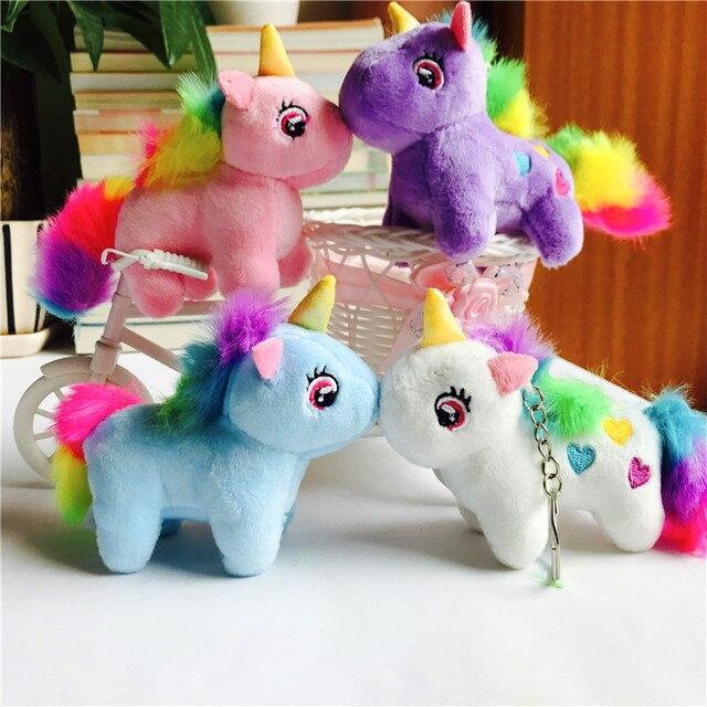 XINTOCH anime brinquedo do cavalo de Pelúcia boneca de brinquedo de Pelúcia Bichos de pelúcia anime chaveiro cavalo Pingente brinquedo de pelúcia macia para o miúdo da gota grátis