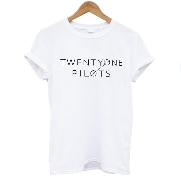 HTB1Hh5ZMVXXXXaaapXXq6xXFXXXx - Twenty One Pilots Cotton Short Sleeve O-neck Casual t-shirt