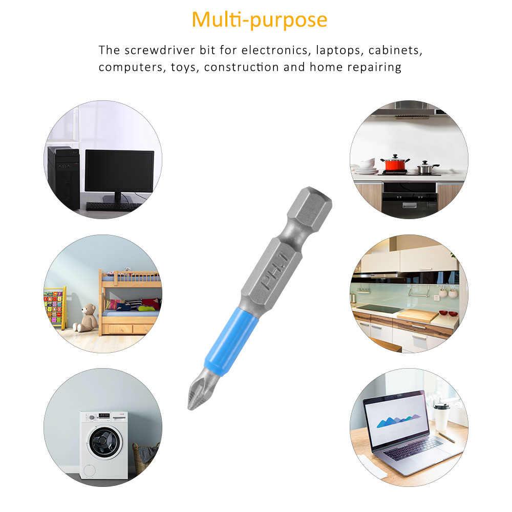 10 piezas hexagonal de alta resistencia impacto destornillador Cruz para Philips eléctrico magnético juego de brocas para aflojar tornillos