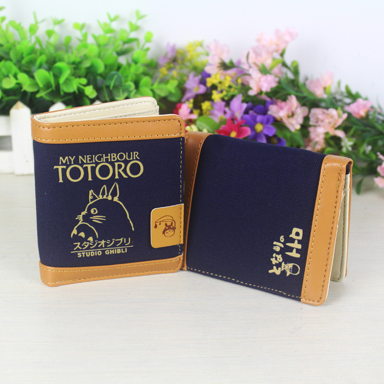 New Anime Tonari no Totoro Cartoo PU fashion Leisure man woman short Wallet Totoro Personality gift PU Wallet 2016 new arriving pu leather short wallet the price is right and grand theft auto new fashion anime cartoon purse cool billfold
