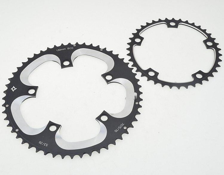 Цена за 53 т / 39 т / 50 т чпу охранник пластина BCD130 велосипед кривошипно блюдо дорожного складной велосипед охранник пластина / мотоцикл детали