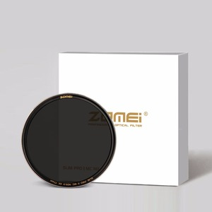 Image 1 - ZOMEI Slim ND Filter ND8 ND64 ND1000 Silver Rimmed Optical Glass filter 49/52/55/58/62/67/72/77/82mm for Camera Nikon Canon Sony