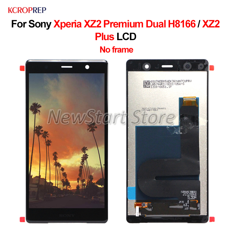"5.8"" For Sony Xperia XZ2 Premium Dual H8166 LCD For Sony Xperia XZ2 Plus lcd Display Touch Screen Digitizer Assembly Replacement"