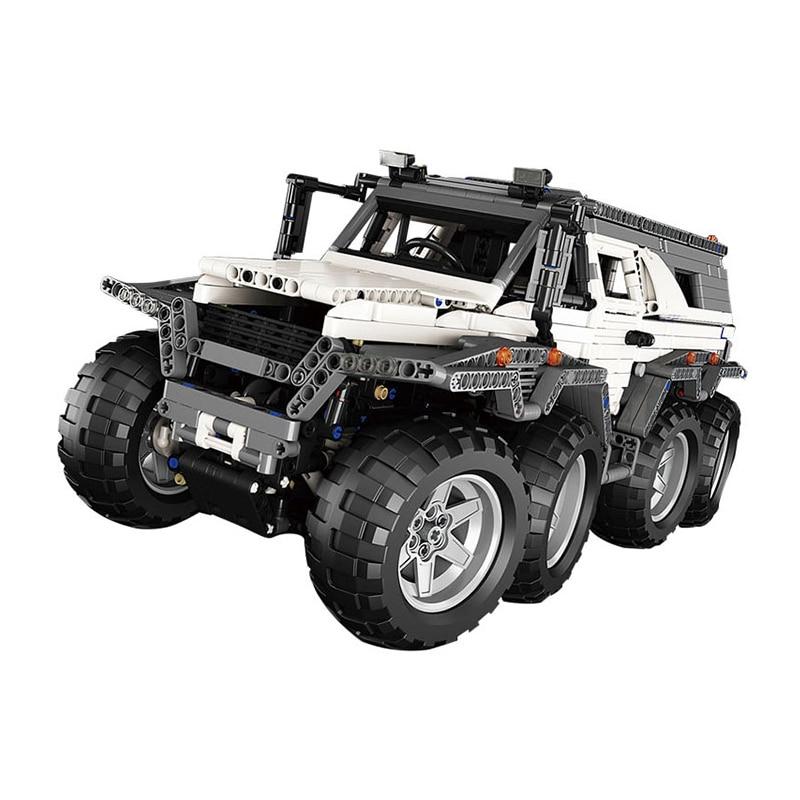 LEPIN 23011 2959 piezas serie Technic vehículo todoterreno modelo ladrillos de construcción juguetes para niños regalos Compatible 5360 camión