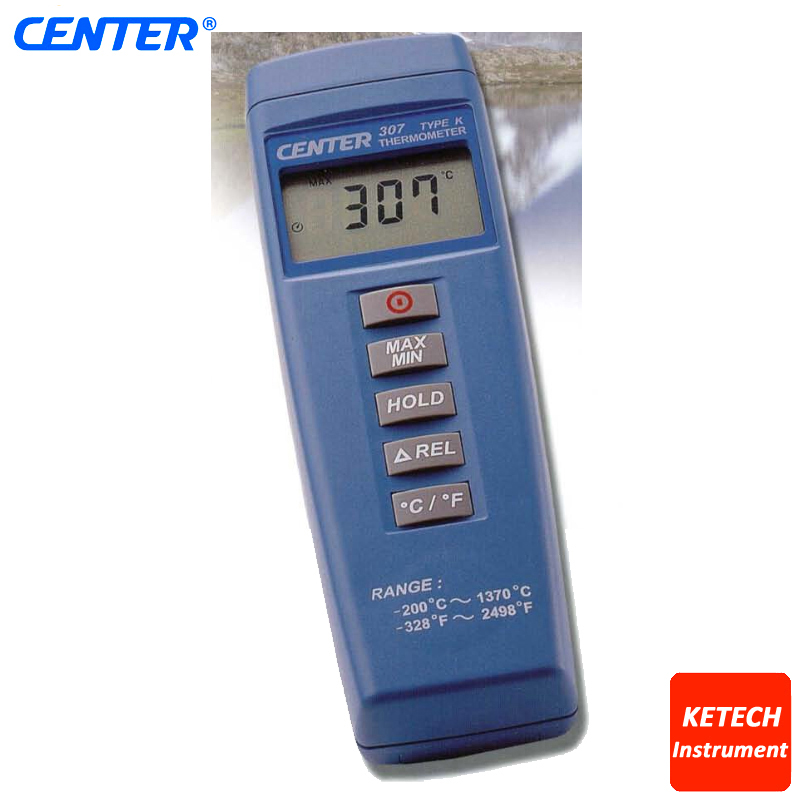 Compact Digital Low Cost Thermometer CENTER307 center 307 digital compact low cost thermometer