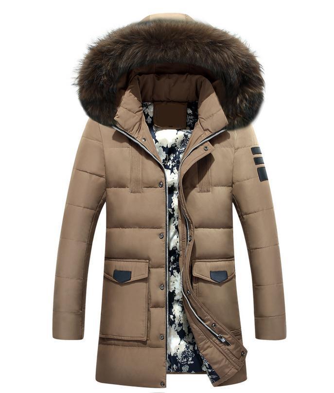 winter Brand White Duck Down font b Men b font Down font b Jacket b font