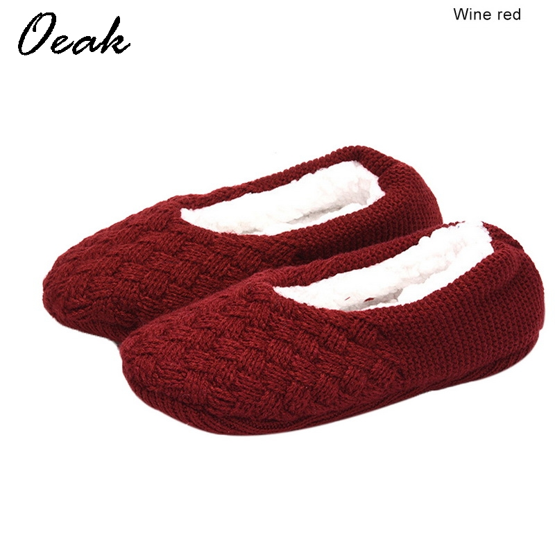 Oeak Women Overshoes Silicone Non-slip Thickening Plus Velvet Indoor Warm Slippers Indoor Winter Slippers 2019 zapatos de mujerOeak Women Overshoes Silicone Non-slip Thickening Plus Velvet Indoor Warm Slippers Indoor Winter Slippers 2019 zapatos de mujer