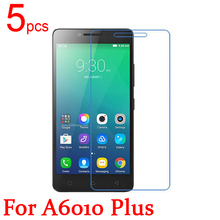 5pcs Ultra Clear LCD Screen Protector Guard Cover Protective Film For Lenovo A2010 Film  +  cloth