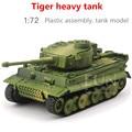 1: 72 пластиковые ассамблеи танк игрушки, Второй Мировой Войны Немецкий Тигр бак, развивающие игрушки, мальчик подарки, бесплатная доставка