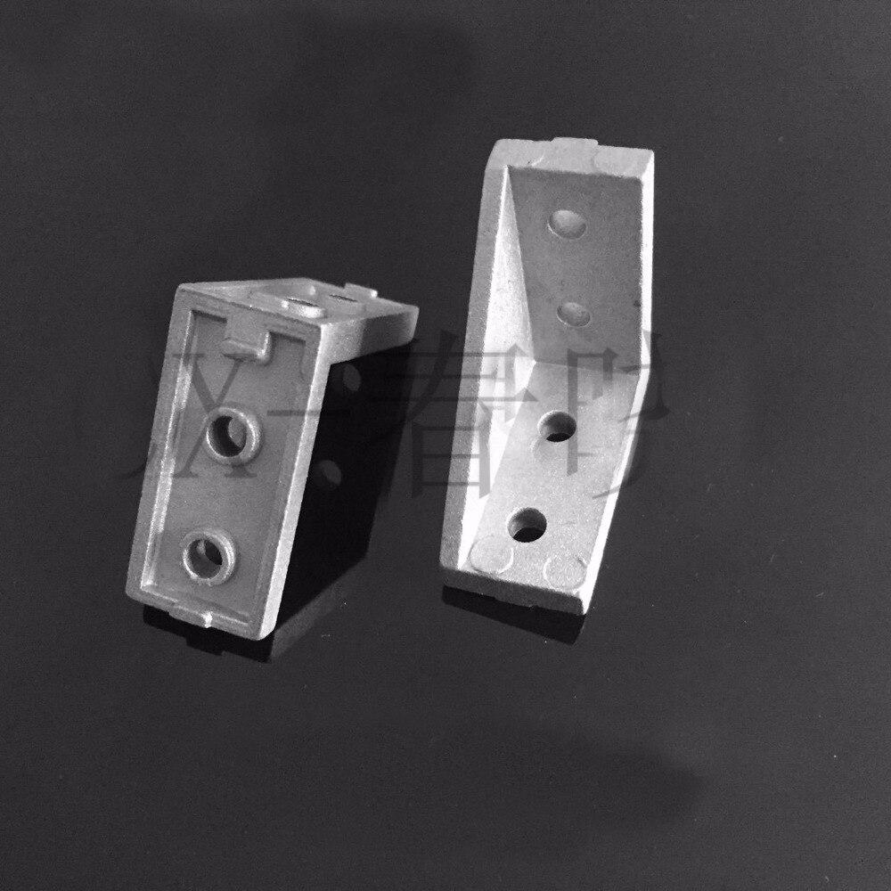 2040 угловой кронштейн угловые соединения 90 градусов кронштейн 2040 кронштейн для ЕС 20 алюминиевый профиль слот 5 мм 6 мм