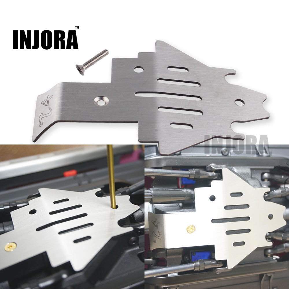 TRX4 Stainless Steel Chassis Armor Protection Skid Plate for 1/10 RC Crawler TRAXXAS Trx-4 Trx 4