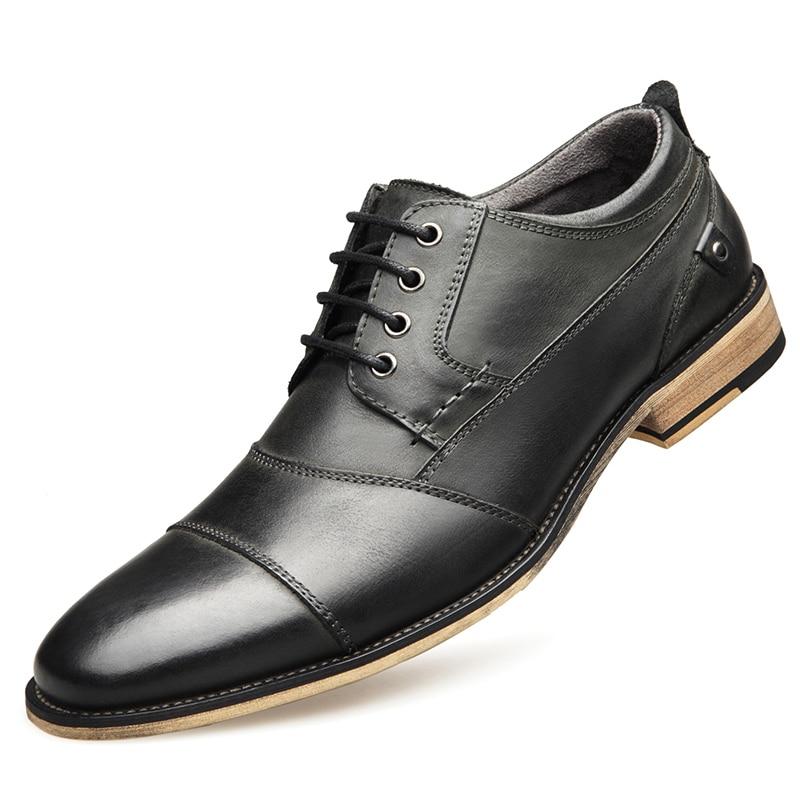 YIGER Men Dress Shoes 23
