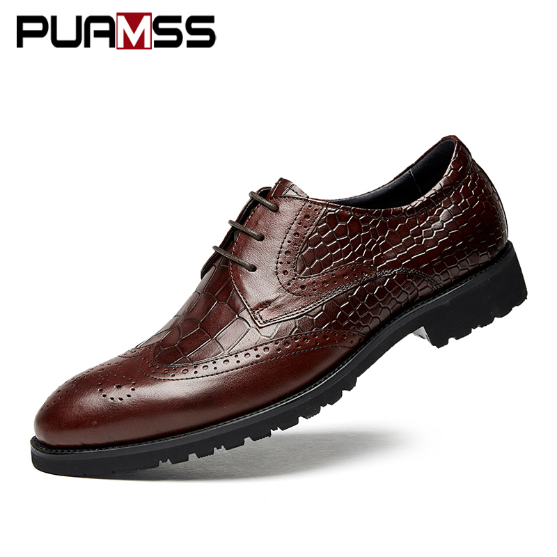 Brand Men Dress Shoes Top Quality Oxfords Male Italian Genuine Leather Formal Shoes Men Flats Business Leather Casual Shoes brand black men shoes genuine leather flats shoes spring autumn men casual shoes top quality leather shoes for men oxfords