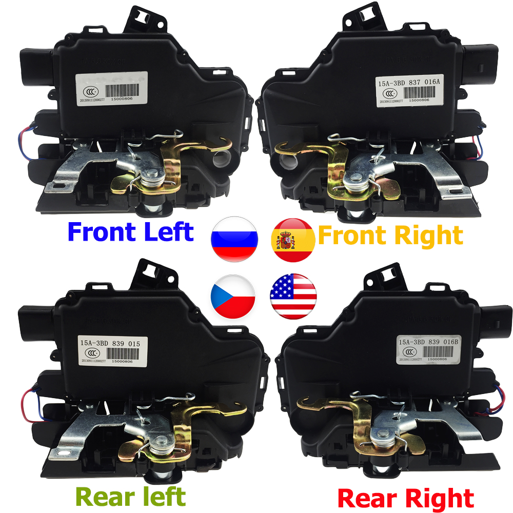 Image 2 - Door Lock Actuator Mechanism For VW /GOLF /BORA /PASSAT /LUPO MK4 All Side Front Rear Left Right UQ02 3BD837016A 3B1837016A-in Locks & Hardware from Automobiles & Motorcycles