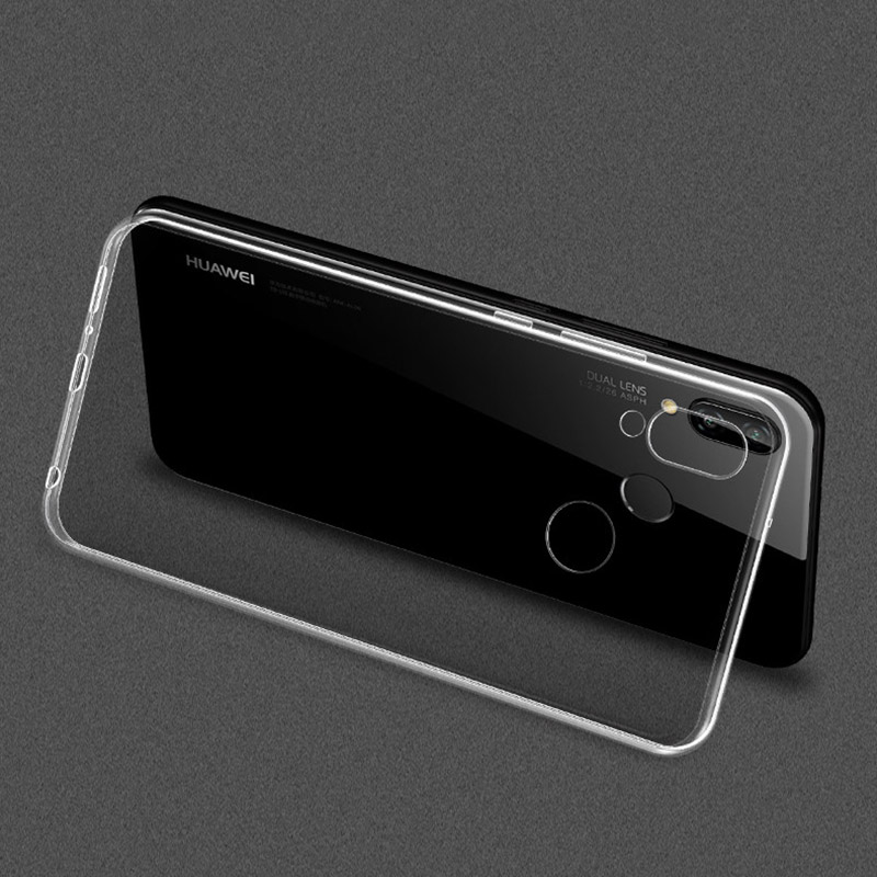 Case for Huawei Honor Play Case Silicone Cover Honor Play Phone Case Clear Ultra Thin Soft TPU Transparent Honer Play 4gb 6.3