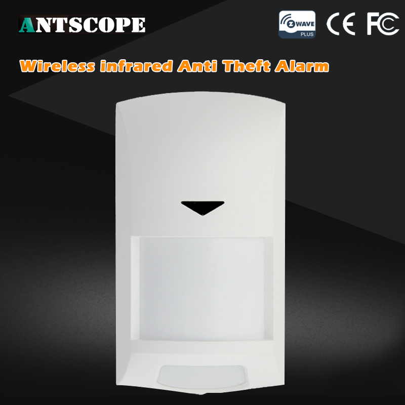 Antscope Z-wave PIR Wireless Smart Motion Sensor Detector Infrared Motion Alarm Sensor For Home Automation Alarm System neo coolcam nas pd02z new z wave pir motion sensor detector home automation alarm system motion alarm system eu us version