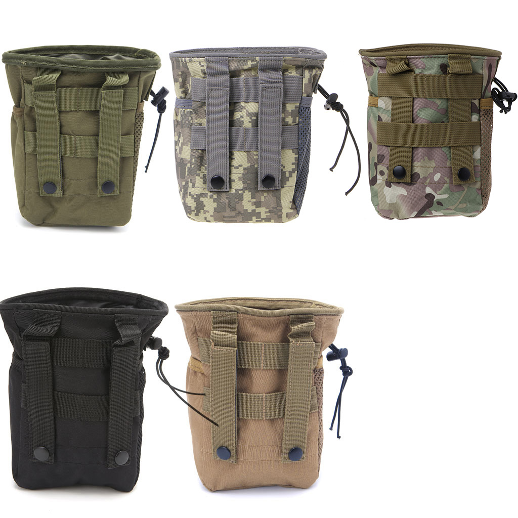 Outdooer Utility Pouch Bag Airsoft Military Molle Belt Dump Drop Bag