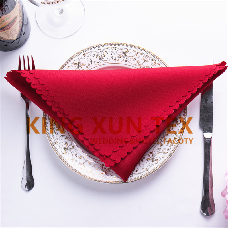 200pcs Lot 45cm*45cm 100% Polyester Table Cloth Napkin For Wedding Event Decoration