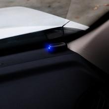 Car Solar Power Alarm Lamp Auto