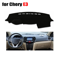 Car Dashboard Cover Mat For Chery E3 All The Years Left Hand Drive Dashmat Pad Desk