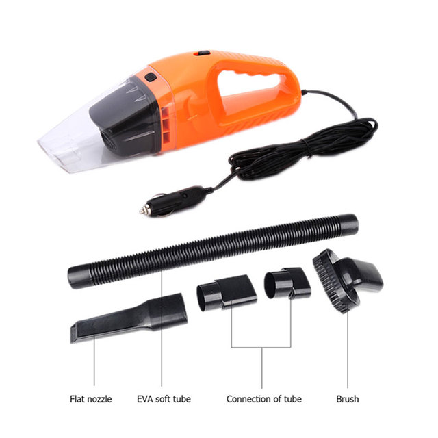 TINTON LIFE Portable Car Vacuum Cleaner 12V DC Cable Length 5M Vacuum Cleaners