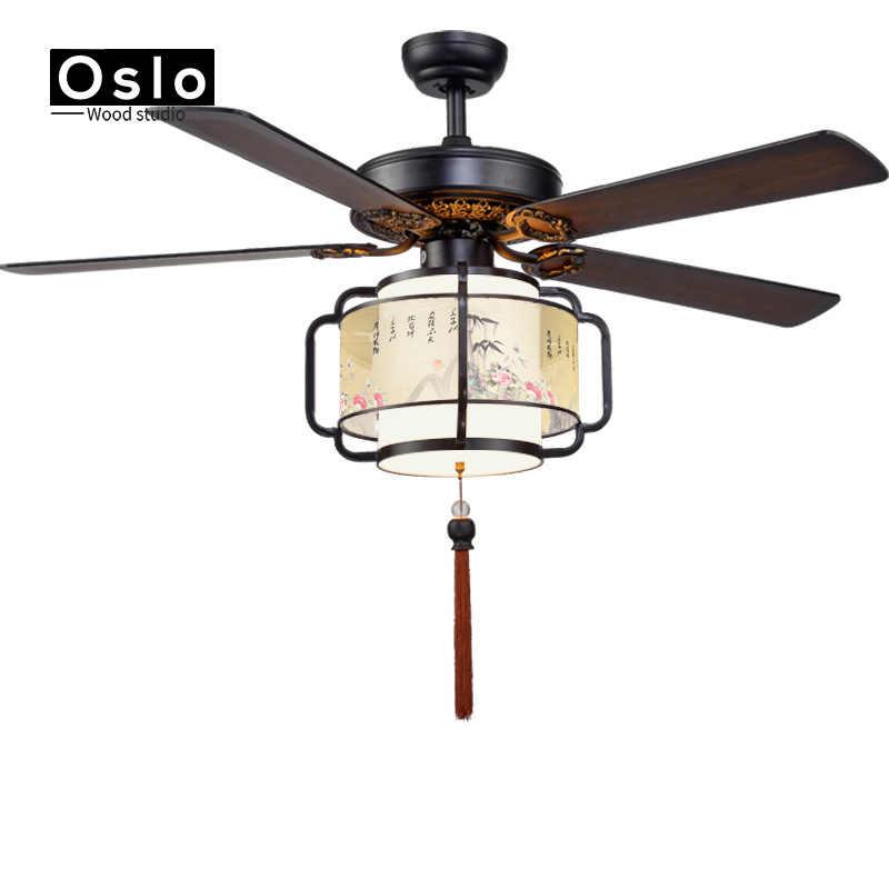 Ретро белый светодиодный светильник вентилятор с люстрой минималистичный гостиная спальня столовая для люстр с вентилятором огни Континентальный