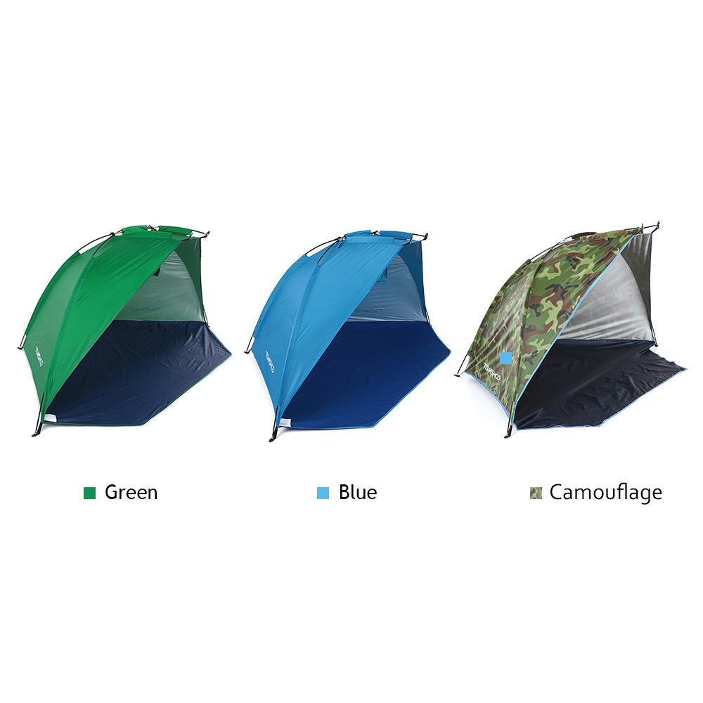 Image 5 - TOMSHOO Outdoor Sports Sunshade Tent for Fishing Picnic Beach Park Camping Tent Travel Tents Outdoor Camping-in Tents from Sports & Entertainment