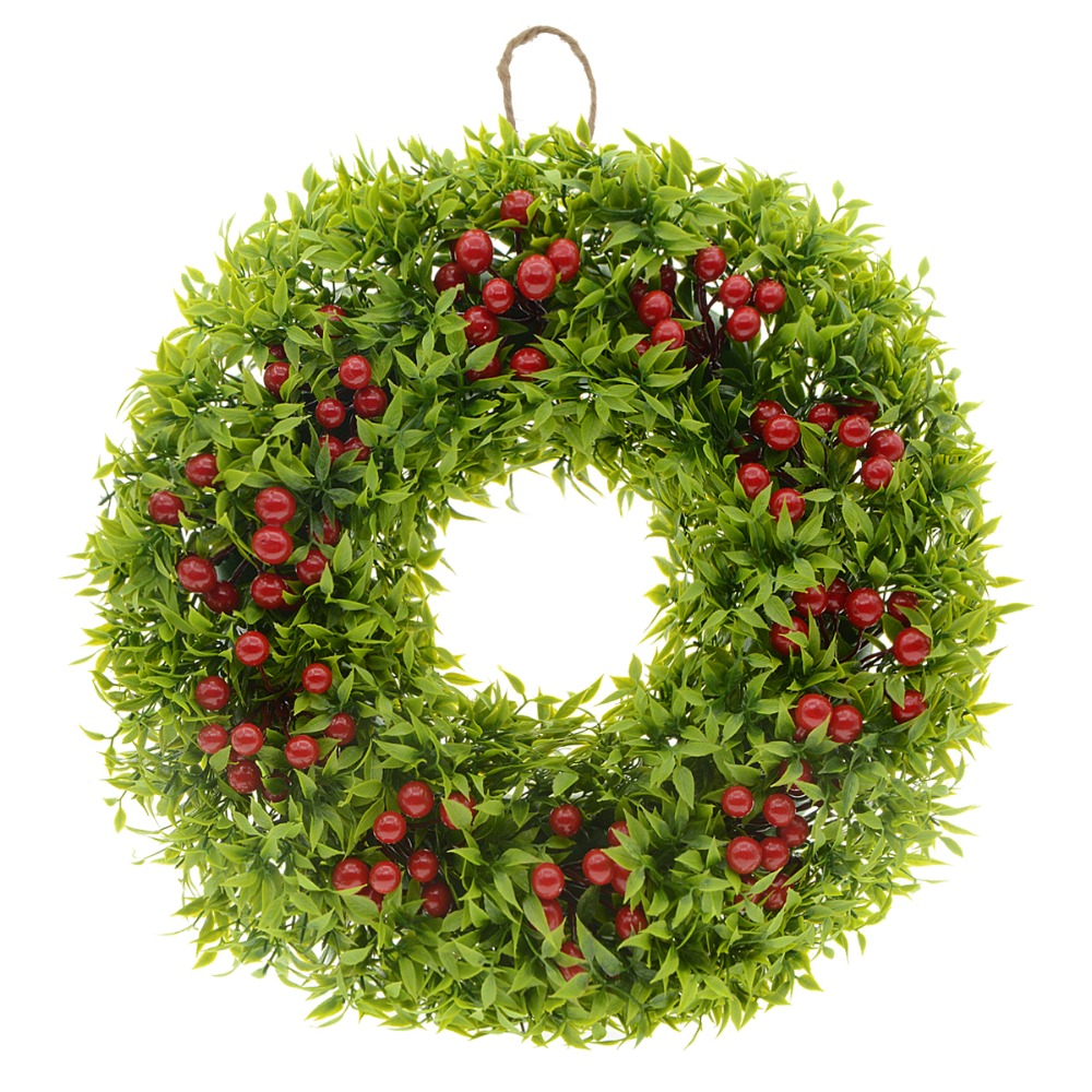 Lifelike Artificial Wreath Flowers Door Wreath Craft Wreath Fake Flowers  Hanging Wall Window Decoration Wedding Party Christmas  In Artificial U0026  Dried ...