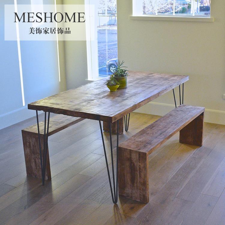 Mesa comedor con banco elegant mesa comedor con tres for Banco rinconera comedor