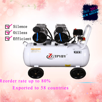 Exported To58 Countries Silent Air Compressor Industrial Air Compressor Made In China