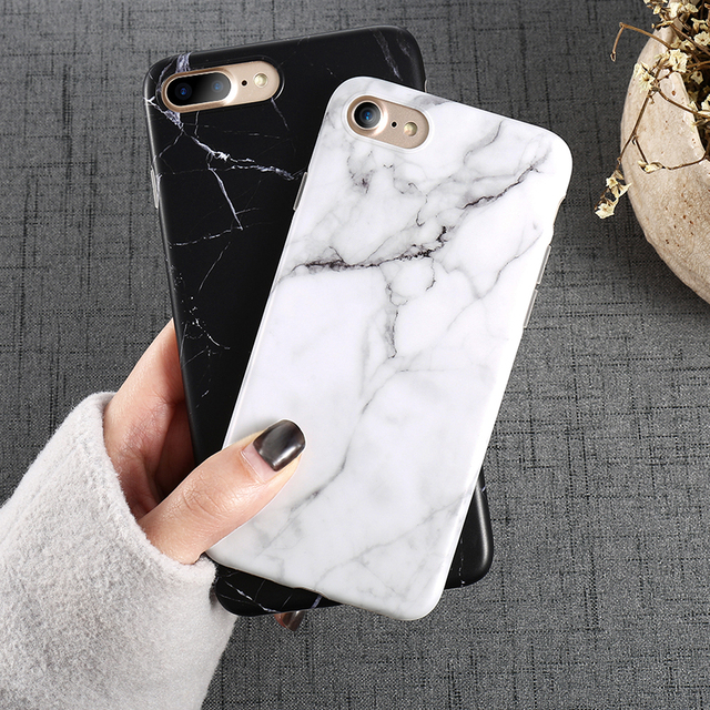 iphone xr phone case black marble