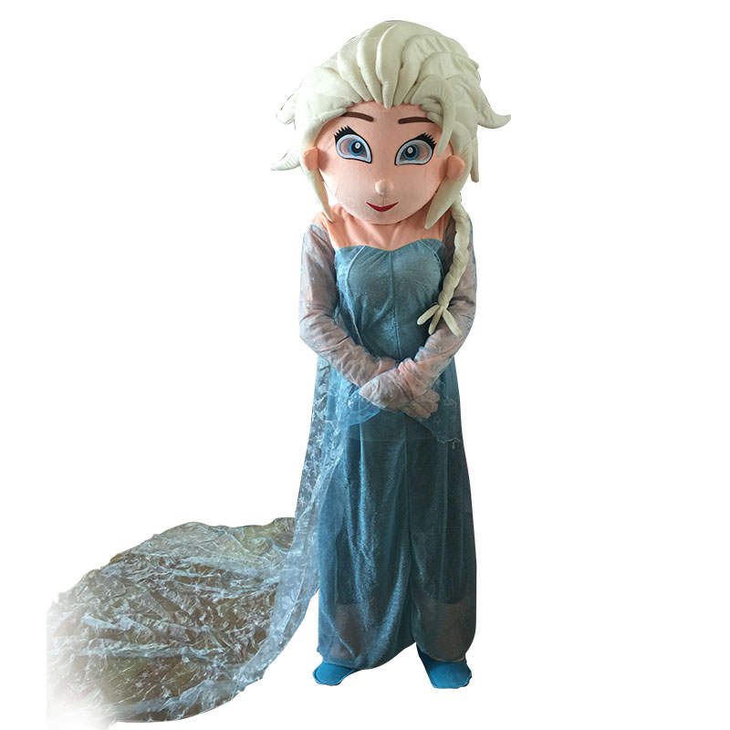 MIAOSHENG costume de mascotte Olaf costume de mascotte Elsa et costume de mascotte princesse anna livraison gratuite