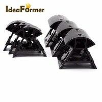 Material plástico da impressora 3d preto vértice cantos 3pcs inferior + 3 peças de impressora kossel reprap 3d superior 2020 perfil alta qualidade reprap 3d 3d printer reprap 3d printer -