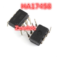 10pcs HA17458  17458 LM1458 DIP8 new original IC free shipping 10pcs ob2354ap dip8
