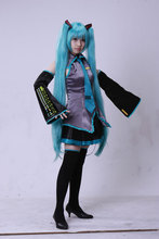 Vocaloid Miku Halloween Costume kit For Young Ladies