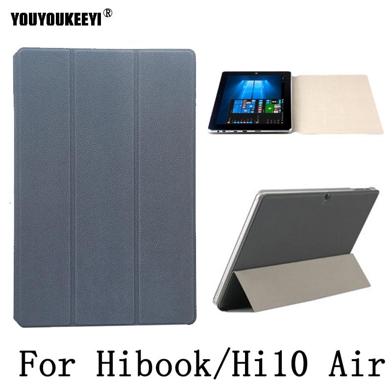 Оригинальный чехол из искусственной кожи для планшета Chuwi HI10 AIR 10,1 дюйма, защитный чехол-подставка для CHUWI Hibook /Hi10pro/Hi10X + подарки