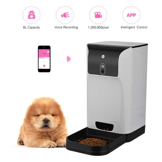 pet puppy meals trays cat automatic feeders programmable sailnovo feeder water dog product for feederr smart