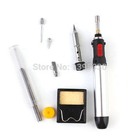 1 PC 7-in-1 Cordless Welding Torch Kit Tool 12ML manual Ignition Gas Soldering Iron