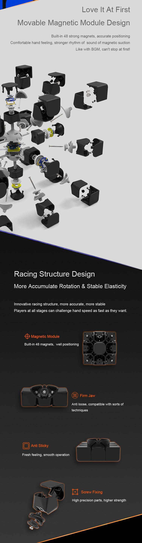 [Update Version ] Original Xiaomi Mijia Giiker i3s AI Intelligent Super Cube Smart Magic Magnetic Bluetooth APP Sync Puzzle Toys (7)