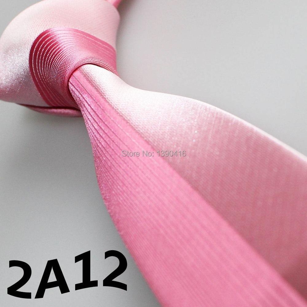 XINCAI 2018 Dernières Style Populaire Bonne Qualité Mode De Luxe Chaude  Rose Lumière Rose Patchwork Bordure casual cravates cravate pour la partie 65886036f85f