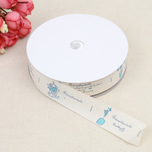 Love Box English Embossed Belt Craft Edging 2cm Cotton Clothing Home Improvement Accessories Polyester  Material