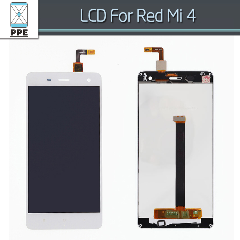 LCD display with Touch screen Digitizer For Xiaomi 4 M4 Mi4 Panel Assembly Replacement 5 inch pantalla No dead pixel LCD Black lcd screen assembly for apple iphone 4 4g lcd display touch screen digitizer pantalla with frame bezel replacement black white