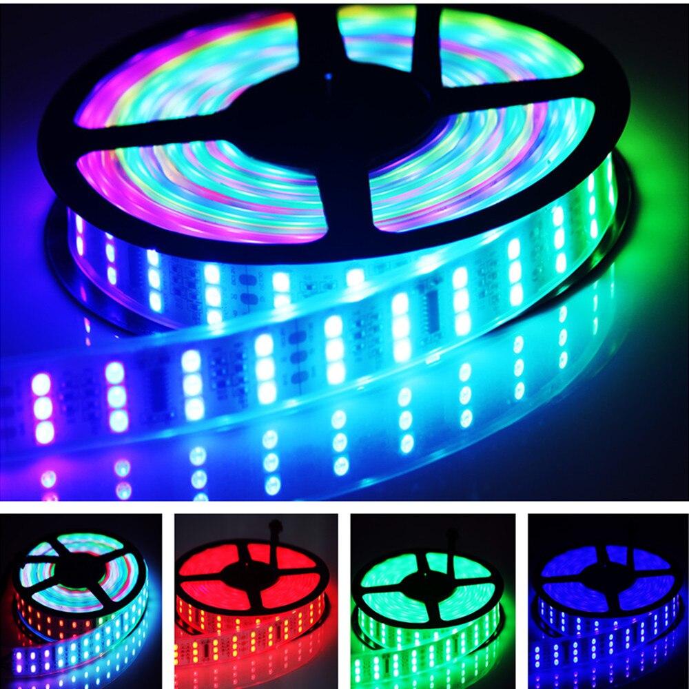 5M RGB Dream Magic Colors 5050 LED Strip light Waterproof 12V Power RF Remote