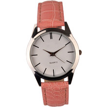 Ladies Mens Luxury Leather Classic Dress BraceleStainless Steel Quartz Military Wrist Watch High quality Gifts #60