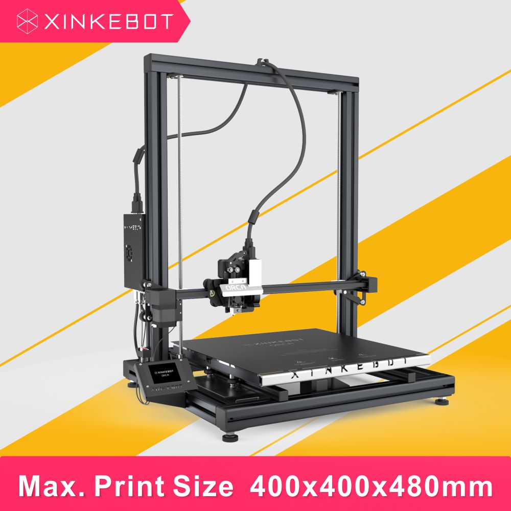 Free Shipping Big Print Plate 3D Printer Suitable for Development Xinkebot Orca2 Cygnus