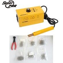 PDR 110v 220v Hot stapler Plastic welding machine plastic repair kit plastic welder stapler for motor or car Super PDR tools